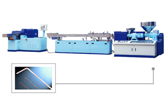 JS-285S/H3V Model of PP Straw Making Machinery